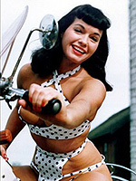 Bettie Page nude 1 2