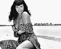 Bettie Page nude 2 2